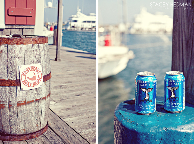 nantucket boat basin, cisco brewers wedding