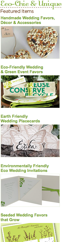 eco conscious wedding on cape cod