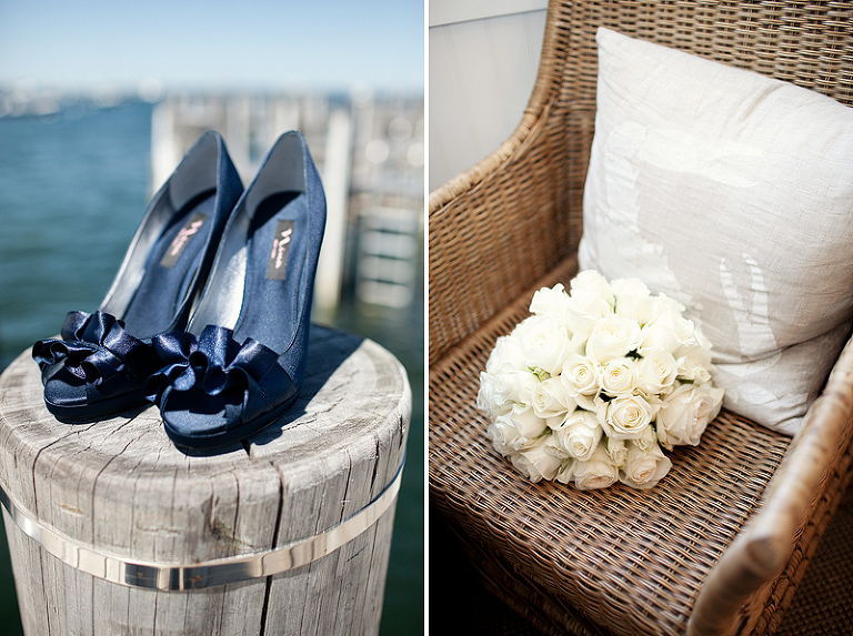 wedding shoes on nantucket