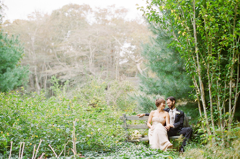 a wedding at spohr gardens in falmouth
