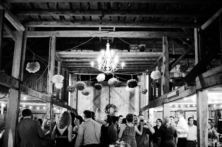 barn wedding in bar harbor maine
