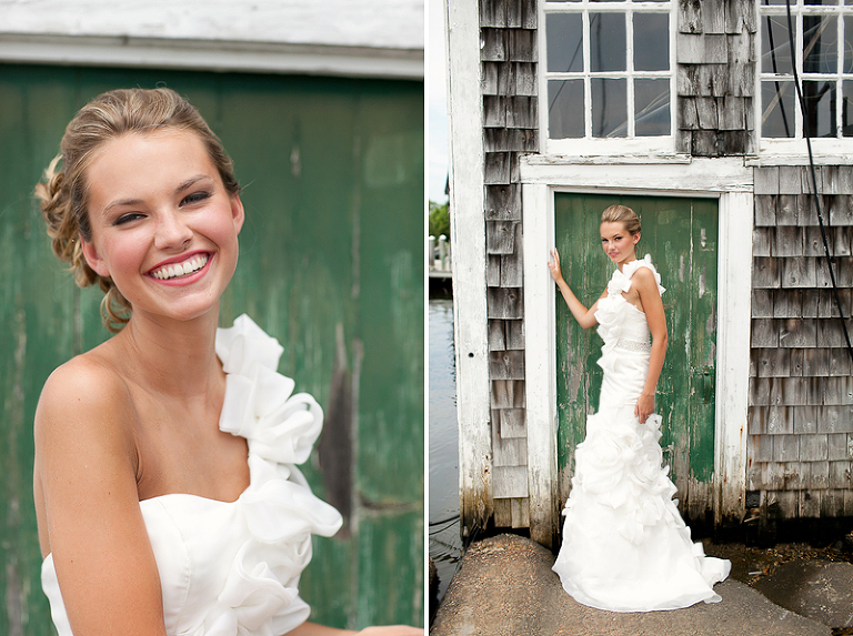 wedding at a boat yard in osterville