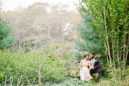 vintage cape cod wedding photos