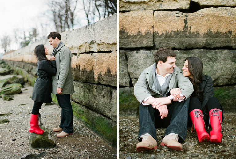 engagement photos in chelsea ma