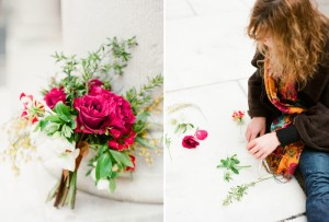 flowers for a boston public library wedding