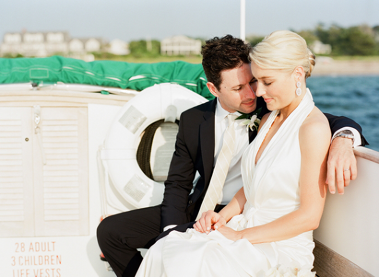 married on a boat on nantucket