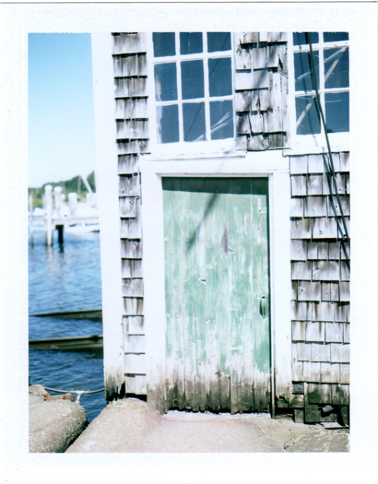 polaroid photos of cape cod