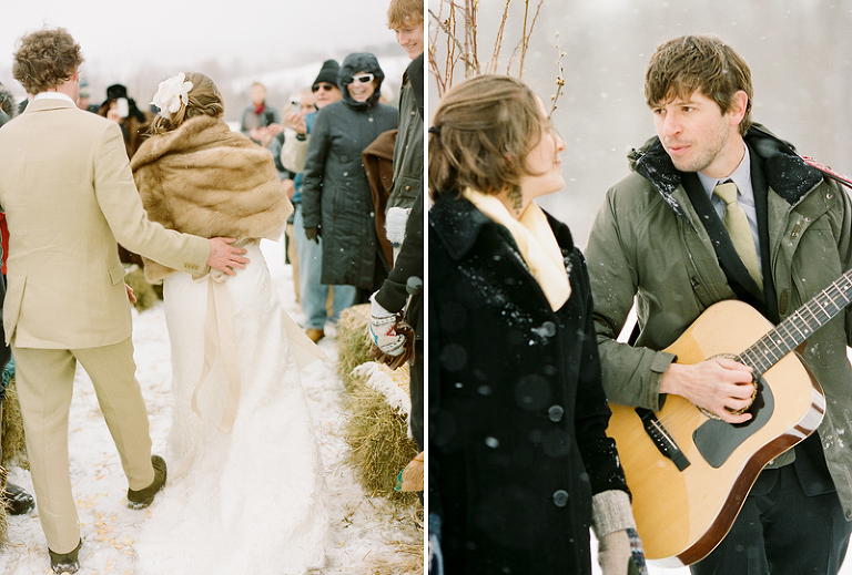 vermont married in the snow