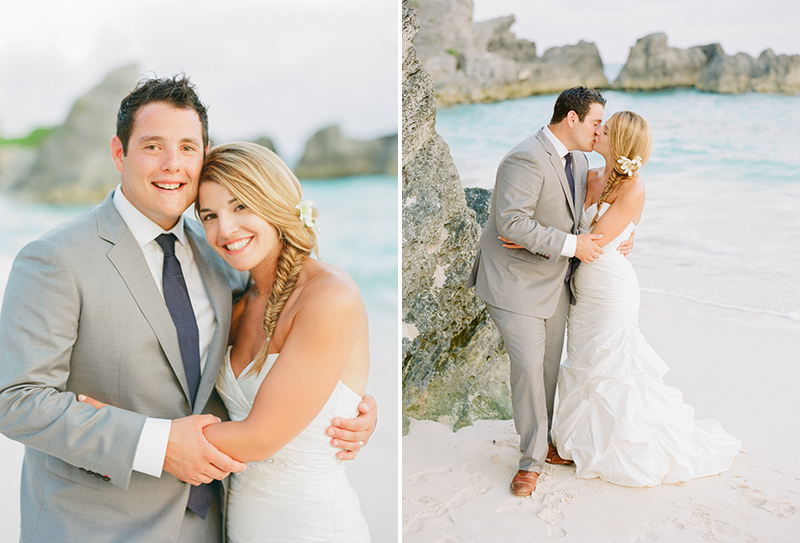 reefs bermuda beach wedding
