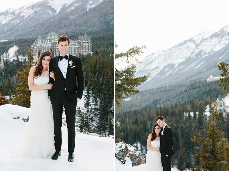 banff springs hotel wedding