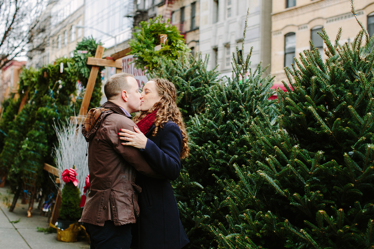 christmas tree shopping in new york city