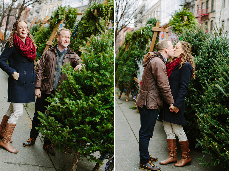 looking for a christmas tree in new york city