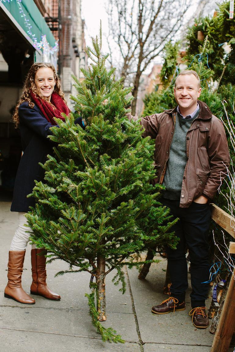 finding a christmas tree in new york