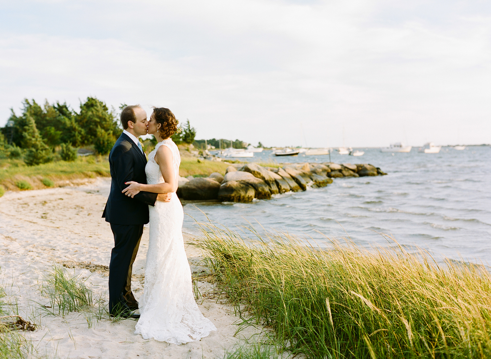 Cape Cod wedding blog photo from Stacey Hedman | Photography about Courtney & Hanns on Waquoit Bay