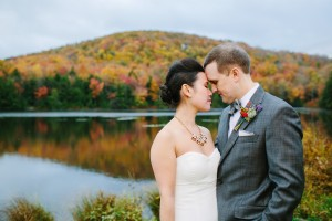 fall wedding in the catskills