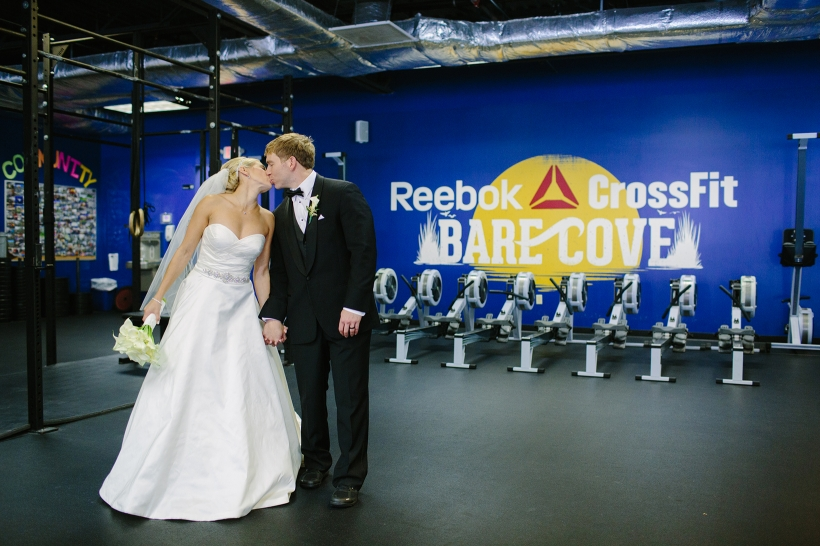 crossfit wedding photos