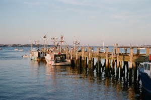 fishing pier in provincetown