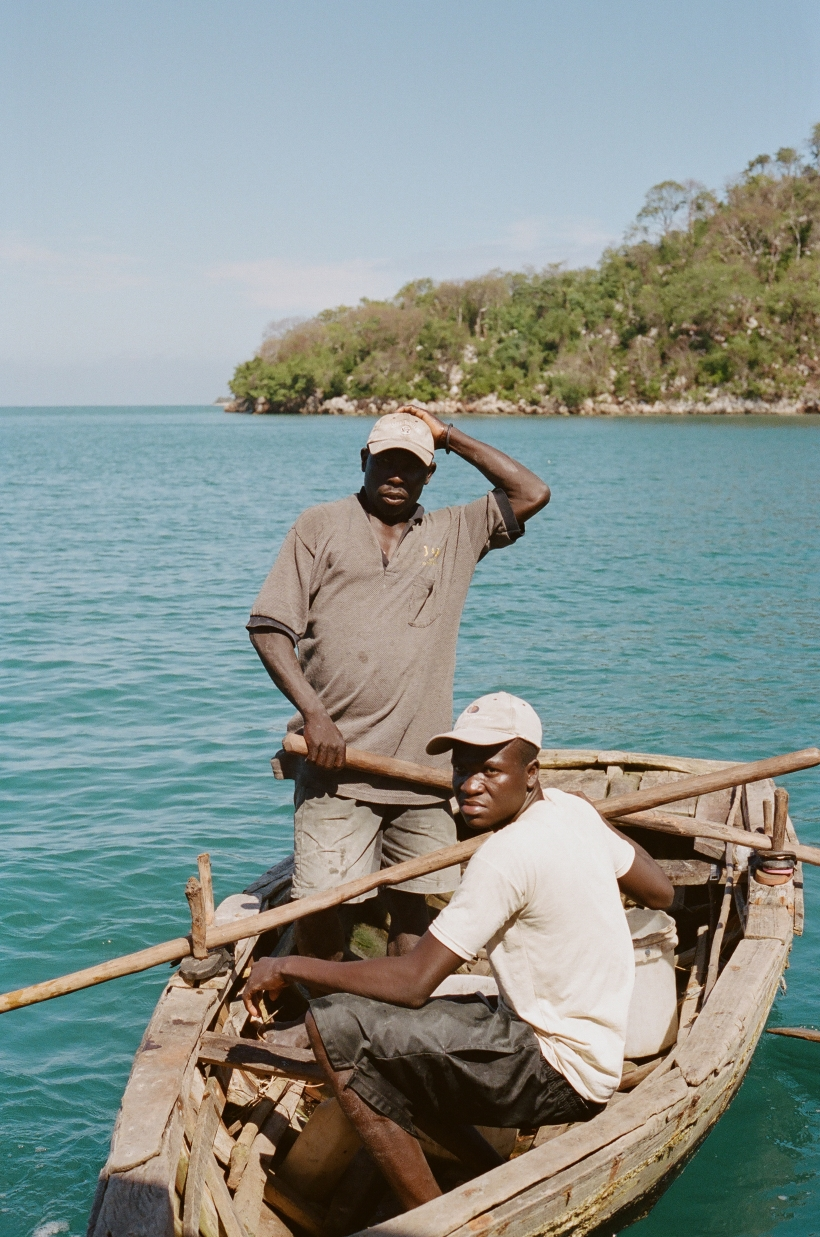 fishermen in haiti