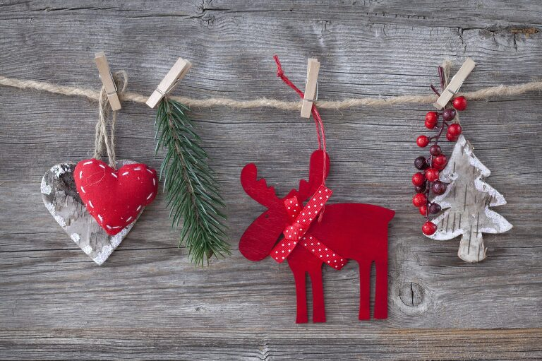 DIY holiday ornaments and decor