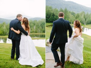 vermont wedding in the mountains