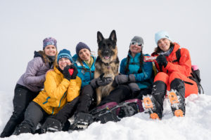 womens group hiking in new hampshire