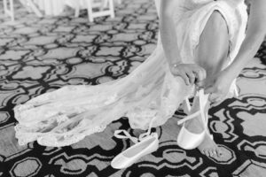 ballet slippers for a bride