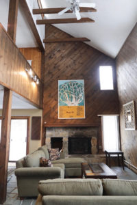 inside of vermont mountain house